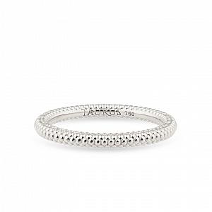 Balto aukso žiedas | Taurus Jewels