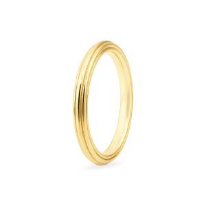 Vestuvinis geltono aukso žiedas | Taurus Jewels